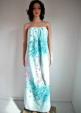 Cooper Street Spectrum Watercolour Print Maxi Dress - Size 10