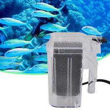 Mini 220-240V Fish Tank Aquarium Oxygen Pump Waterfall Circulation Filter IB