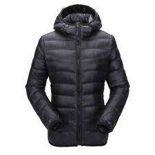 Women Quilted Puffer Bubble Hooded Lightweight Padded Down Jacket  Coats Y9