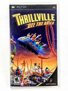 Thrillville: Off the Rails for Sony PSP Complete Free Fast Shipping