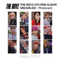 THE BOYZ 4th mini album Dream Like Official Photocard White Version KPOP K-POP