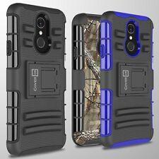 For LG Q7 / Q7 Plus / Q7 Alpha Belt Clip Holster Shockproof Phone Cover Case
