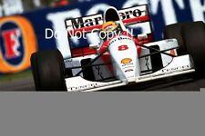 Ayrton Senna McLaren MP4/8 British Grand Prix 1993 Photograph