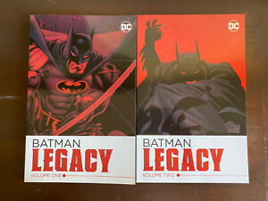 Batman Legacy Volume 1 & 2 TPB LOT DC COMICS NM BATMAN PAPERBACK COMPLETE SET