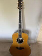 More details for yamaha llta transacoustic guitar - vintage tint