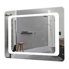 27.5x19.7 inch Led Bathroom Mirror Wall Mounted Mirror Smart Touch Control Light