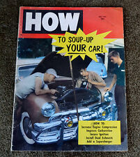 VTG 1955 Hot Rod Magazine How To Soup Up Your Car #61 N
