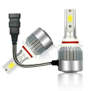 2X Luces Fuertes Para Auto Coche Luz Carro Bulbs HB3/9005 LED SUPER Blanco USA