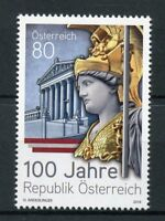 Austria 2018 MNH Republic of Austria 100 Years 1v Set Architecture Stamps