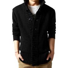 Men's Warm Button Sweater Knitted Cardigan Winter Coat Jacket Outerwear Knitwear