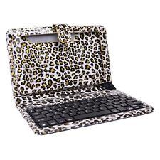 """Digital2 ACK961B-PLD 9"""" Micro USB Case & Keyboard - Fits 9"""" Tablets (Leopard)"""
