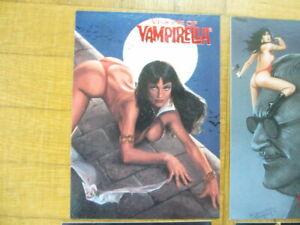 VISONS OF VAMPIRELLA  Sammelkarten Set 1 - 90 Cards - Comic Images Topps