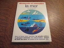 decouvrir et connaitre la mer - JEAN MERRIEN