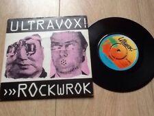 "ULTRAVOX . ROCKWROK 7"""