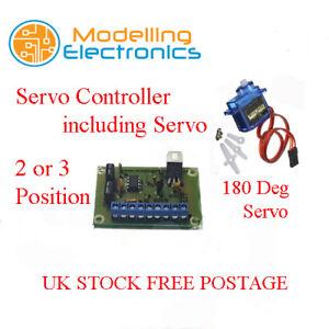 2 or 3 Position Server Controller Module Including Servo