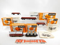 CG54-1# 5x Märklin H0/AC Güterwagen: 4919 + 4903 + 4914 + 4920, sehr gut+OVP