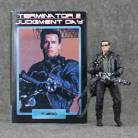 The Terminator 2 T-800 Action Figure Judgment Day Hospital Model Toy Collector