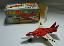 Matchbox - Superfast - MB  27 Swing Wing - Jet Set Aufkleber    - OVP -