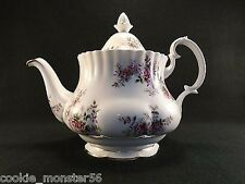 Royal  Albert Lavender Rose Teapot  RARE