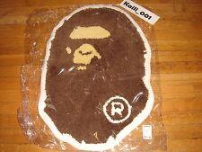 A Bathing Ape Head Rug Mat Bape Logo Camo White Supreme B