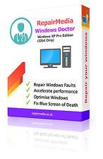 Windows XP Pro Doctor Data Repair Recovery ReInstallation DVD Software PC(32bit)