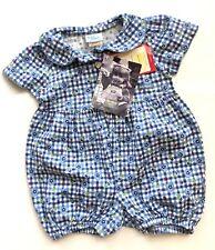 Vtg 90s Osh Kosh Short Romper Jumper 6 9 Months Blue...