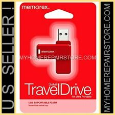 US SELLER—RED — MEMOREX — IMATION—8GB—USB 2.0—SWIVEL—TRAVEL—PORTABLE—FLASH DRIVE