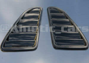 Vauxhall GTE Hybrid bonnet vents Gloss Black finish, astra corsa vectra inc VXR