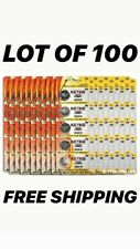 LOT OF 100x pcs NEW CR2016 3V button/coin/cell battery FREE SHIPPING