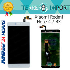 "Pantalla Completa LCD para Xiaomi Redmi Note 4 / 4X Snapdragon Color Blanco 5,5"""