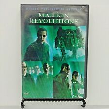 The Matrix Revolutions (Dvd, 2004, 2-Disc Set) Keanu Reeves, Laurence Fishburne.