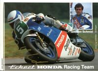 uralte AK, Autograph von Jochen Schmid, Honda RC 250