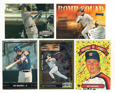 1995 SCORE  ASTROS JEFF  BAGWELL GOLD RUSH PARALLELL  CARD #554