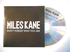 MILES KANE : DON'T FORGET WHO YOU ARE ♦ CD SINGLE PORT GRATUIT ♦