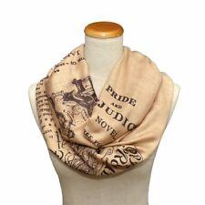 Pride and Prejudice Shawl Scarf Wrap. Book Scarf. Literary scarf. Jane Austen