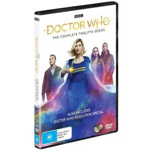 BRAND NEW Doctor Who : Series 12 (DVD, 2020, 5-Disc Set) *PREORDER R4 Season