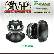 """Timpano Tempesta TPT-DH2000 2"""" Compression Driver Combo 400 Watts Continuous"""