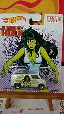 Hot Wheels Pop Culture Marvel SHE-Hulk Custom '77 Dodge Van (N5)