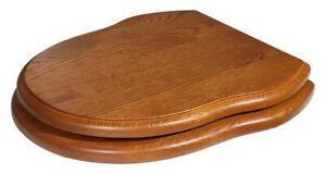 Traditional Solid Wood Gladstone Toilet Seat Various Finishes