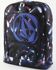 WOMEN'S GIRLS VOLCOM SCHOOLY V COSMIC BACKPACK MULTI LOGO  SCHOOL BAG NEW $55