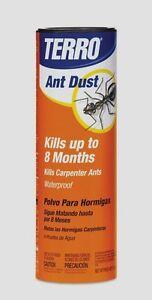 1 lb TERRO ANT DUST Killer Boxelder Silverfish Cockroaches Fleas Insect Bug T600