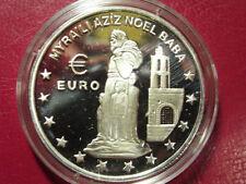 1997 Turkey Large Silver Proof 1500000 L-Euro St.Nicholas(Noel Baba)Church Myra