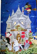 KIDS CHILDRENS BOYS GIRLS HOUSE OF HORRORS  SINGLE DUVET COVER SET POLY COTTON