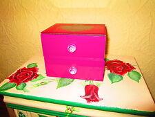 Mirrored Jewelry Box Cabinet Chest Organizer Holder Storage Case