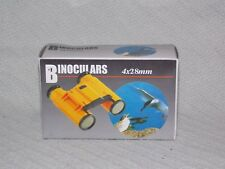 Tag Master 4x28mm Binoculars Yellow New in Box