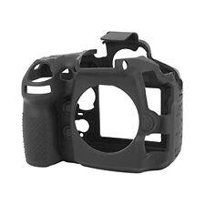 Easy Cover Nikon D 810 D810 Fotocamera Custodia Protettiva Silicone Nero