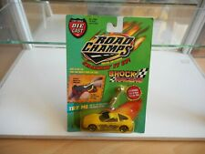 Road Champs Crankin' it up Corvette in Yellow on Blister