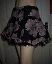 Polyester Floral Topshop Flippy, Full Skirts for Women