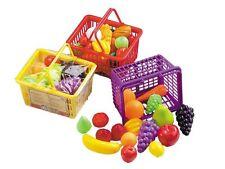 Happy People Einkaufskorb mit Zubehör Kinder-Rollenspiele Kaufläden Zubehör