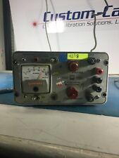 Power Designs 4005r Transistorized Power Supply 0 40vdc 0 500ma